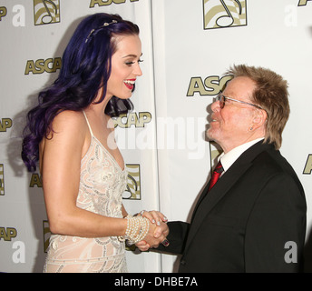Katy Perry Paul Williams 29th Annual ASCAP Pop Music Awards statt, an der Renaissance Hollywood Hotel Hollywood - Stockfoto