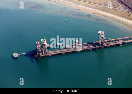 Tata Steel Works, Port Talbot Stockfoto