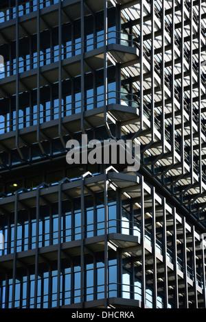 Deutschland, Bayern, München, Teil der Fassade des Europäischen Patentamts