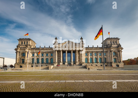 Reichstag in Berlin - Stockfoto