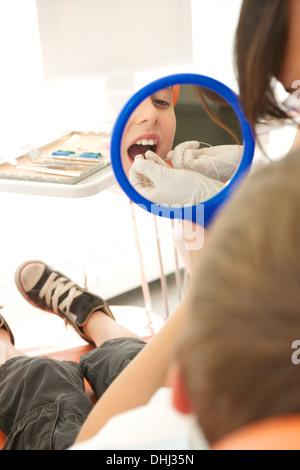 Zahnmedizinische Patienten Zähne Zahnseide