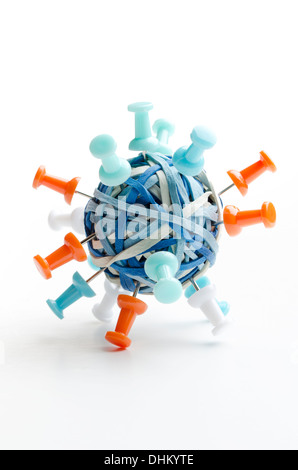 Büro-Landmine - Stockfoto