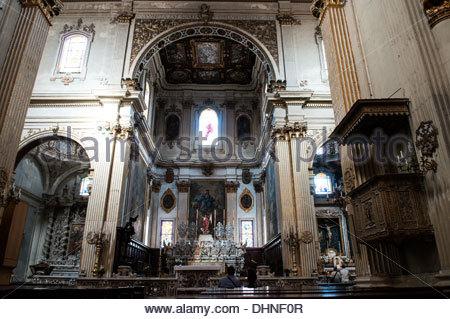 Kathedrale von Santa Maria Assunta, Piazza del Duomo, Lecce, Apulien, Italien - Stockfoto