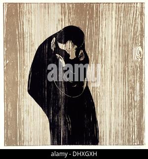 Kuss IV - von Edvard Munch, 1902 - Stockfoto