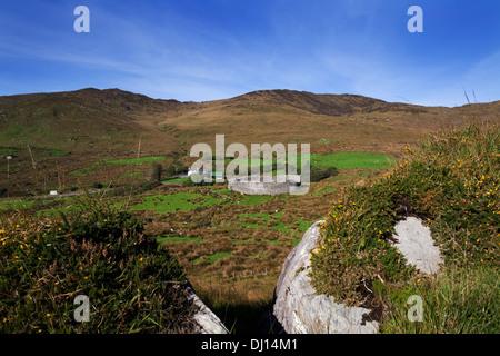 Staigue Fort bei 2.000 Jahre alten eines der am besten erhaltenen Cashels oder Ring Forts in Irland, in der Nähe - Stockfoto