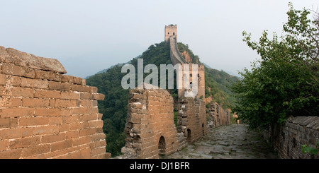Die Great Wall Of China; Peking, China - Stockfoto