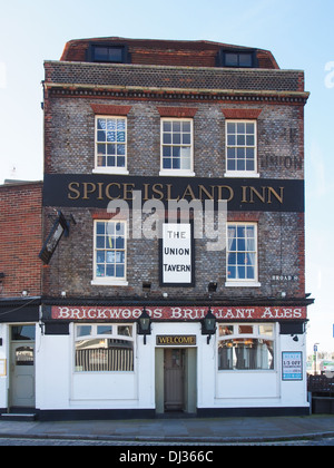 Spice Island Inn Old Portsmouth England Einer Der Lieblingsplätze