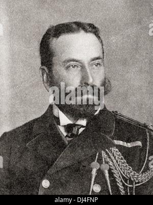 Louis Alexander Mountbatten, 1. Marquess of Milford Haven, 1854-1921, ehemals Prinz Louis Alexander von Battenberg. - Stockfoto