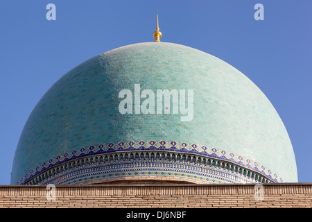 Eine Kuppel auf Hekime Imom Moschee, Hekime Imom komplexe, Hekime Imom Square, Taschkent, Usbekistan - Stockfoto
