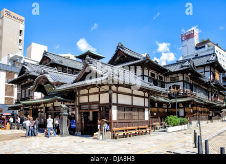 Dogo onsen hei e quellen badehaus in matsuyama japan stockfoto bild 73177588 alamy - Traditionelle japanische architektur ...