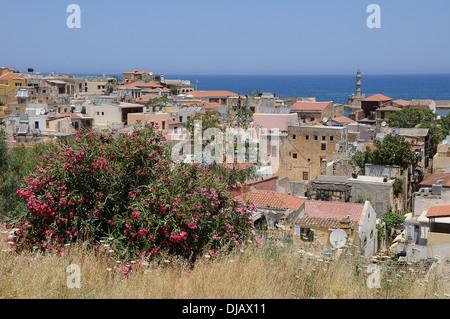 Blick auf die Altstadt von Chania, Kreta, Griechenland - Stockfoto