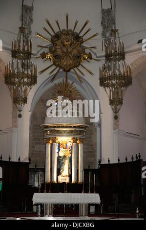 Catedral de Nuestra Señora de Las Nieves, Dalt Vila (Altstadt), Ibiza Stadt, Ibiza, Spanien - Stockfoto