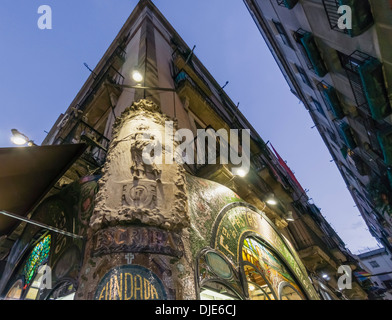 Pasteleria Escriba, Konditorei, Art Deco, Ramblas, Barcelona, Katalonien, Spanien, - Stockfoto