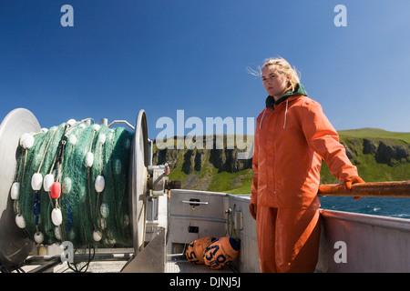 """Lachs In der Alaska Abteilung der Fische und Angelspiel """"Alaska-Halbinsel Area"""" - Stockfoto"""