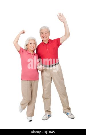 Porträt von älteres paar - Stockfoto
