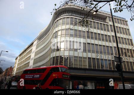 Kaufhaus Peter Jones, Sloane Square, London SW3 - Stockfoto