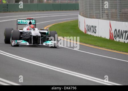 26. März 2011 - Melbourne, Victoria, Australien - 2011 australischen Formel 1 Grand Prix. Formel 1 Qualifikation - Stockfoto