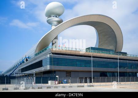 Der neue Kai Tak Cruise Terminal in Hong Kong - Stockfoto