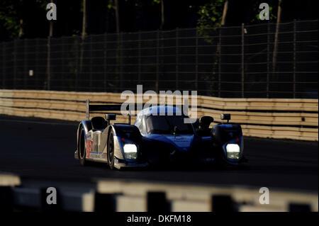 13. Juni 2009 - Mans Le, Frankreich - #9 Peugeot Sport 908 während der 24 Stunden von Le Mans, Samstag, 13. Juni - Stockfoto