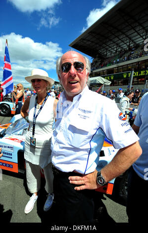 13. Juni 2009 - Le Mans, Frankreich - Prodrive Direktor DAVID RICHARDS vor den 24 Stunden von Le Mans, Samstag, - Stockfoto