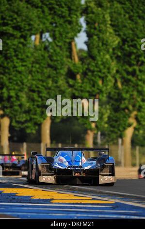 13. Juni 2009 - Mans Le, Frankreich - #7 Peugeot Sport 908 während der 24 Stunden von Le Mans, Samstag, 13. Juni - Stockfoto