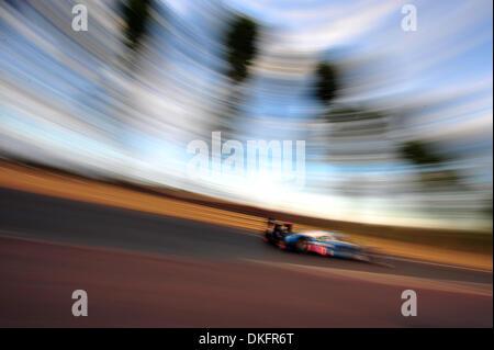 13. Juni 2009 - Mans Le, Frankreich - #17 Pescarolo Peugeot 908 während der 24 Stunden von Le Mans, Samstag, 13. - Stockfoto