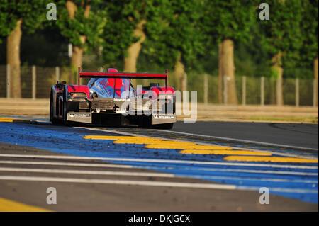 13. Juni 2009 - Mans Le, Frankreich - Rebellion Lola während der 24 Stunden von Le Mans, Samstag, 13. Juni 2009, - Stockfoto