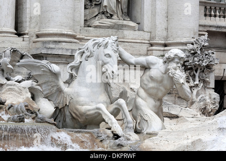 Fontana di Trevi, Rom, Italien - Stockfoto
