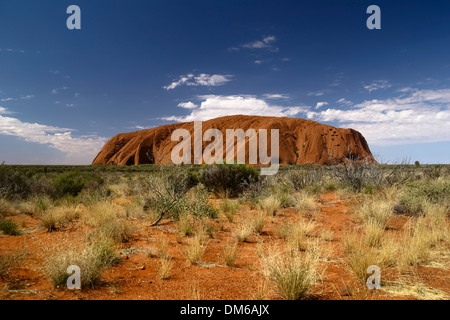 Uluru, Ayers Rock, Uluru Nationalpark, Northern Territory, Australien - Stockfoto