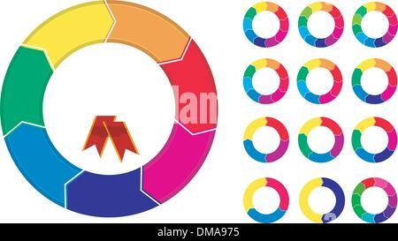 Prozess-Diagramme-Menü - Stockfoto