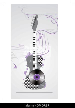 musikalische Untermalung Grunge - Stockfoto