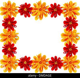 Blumenrahmen - Stockfoto