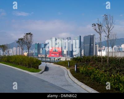 Megabox Mall aus der neuen Hong Kong Kreuzfahrtterminal am Kai Tak in Kowloon Hong Kong - Stockfoto