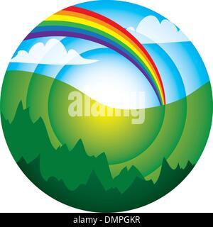 Abstrakter Umwelt- - Stockfoto