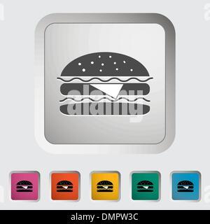 Burger - Stockfoto