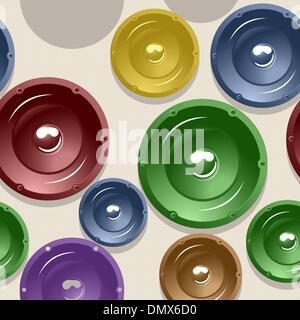 Lautsprecher-Muster - Stockfoto