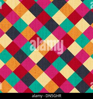 nahtlose geometrische Raute Hintergrund - Stockfoto