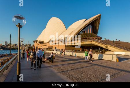 Sydney Opera House, Sydney, New South Wales, Australien - Stockfoto