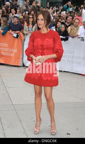 """Toronto, ON, Kanada. 10. September 2013. Julia Roberts bei der Premiere von """"August: Osage County"""" auf 2013 Toronto - Stockfoto"""