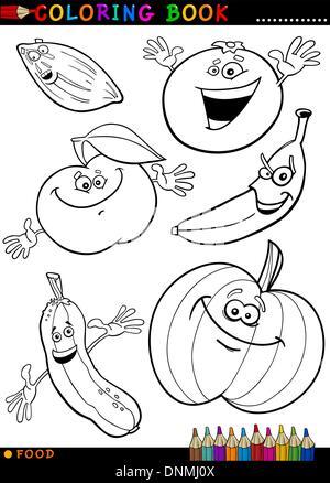 Ausgezeichnet Essen Malbuch Fotos - Ideen färben - blsbooks.com