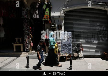 Straßenszene aus Istanbul, Türkei - Stockfoto