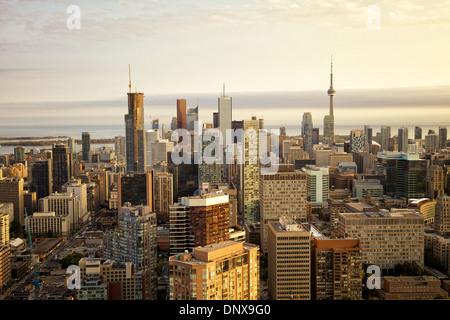 Skyline der Innenstadt von Toronto, Ontario, Kanada - Stockfoto