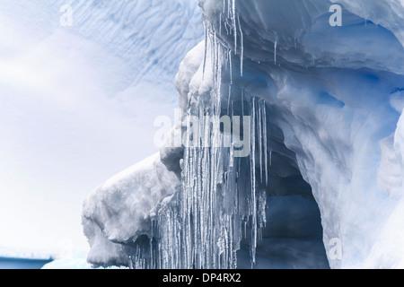 Eisberge, Antarktis - Stockfoto