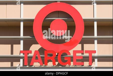 19. Dezember 2013 - anerkannt Ziel bis zu 70 Millionen Kunden betroffen waren durch den Diebstahl von Daten über - Stockfoto