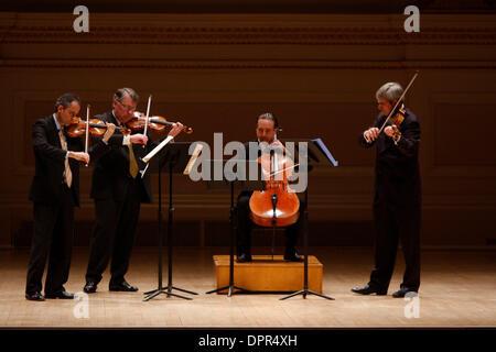 8  Februar 2009 - New York, NY, USA - das Emerson String