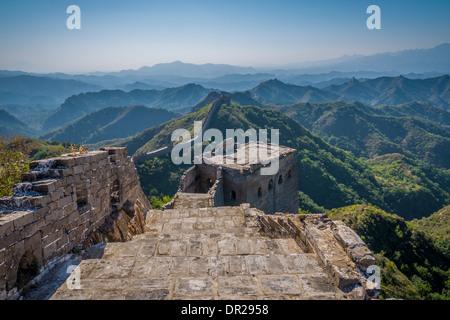 Jinshanling Great Wall, Provinz Hebei, China - Stockfoto