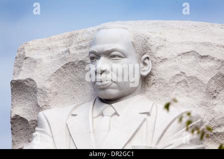 Martin Luther King, Jr.-Denkmal in Washington, DC - Stockfoto