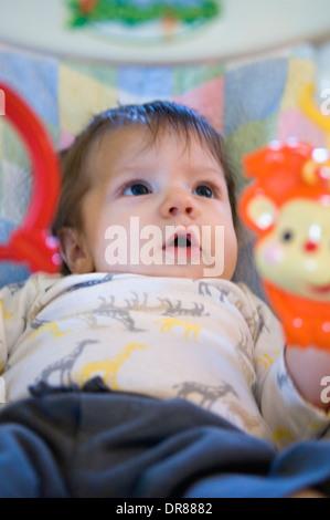 Fast drei Monate altes Baby Boy - Stockfoto