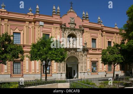 Umgebung: Museum of Fine Arts, Sevilla, Andalusien, Spanien, Europa - Stockfoto