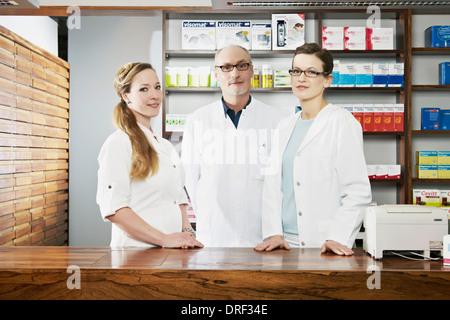 Drogerie-Team, München, Bayern, Deutschland - Stockfoto